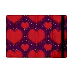 Galaxy Hearts Grunge Style Pattern Apple Ipad Mini 2 Flip Case by dflcprints