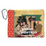 xmas - Canvas Cosmetic Bag (XXL)