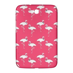 Flamingo White On Pink Pattern Samsung Galaxy Note 8 0 N5100 Hardshell Case  by CrypticFragmentsColors