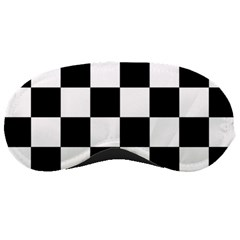 Checkered Flag Race Winner Mosaic Tile Pattern Sleeping Mask by CrypticFragmentsColors
