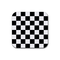Checkered Flag Race Winner Mosaic Tile Pattern Drink Coasters 4 Pack (square) by CrypticFragmentsColors