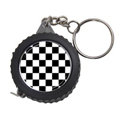 Checkered Flag Race Winner Mosaic Tile Pattern Measuring Tape by CrypticFragmentsColors