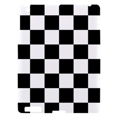 Checkered Flag Race Winner Mosaic Tile Pattern Apple Ipad 3/4 Hardshell Case by CrypticFragmentsColors