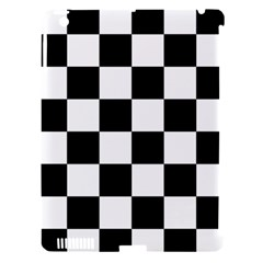Checkered Flag Race Winner Mosaic Tile Pattern Apple Ipad 3/4 Hardshell Case (compatible With Smart Cover) by CrypticFragmentsColors