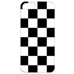 Checkered Flag Race Winner Mosaic Tile Pattern Apple Iphone 5 Classic Hardshell Case by CrypticFragmentsColors