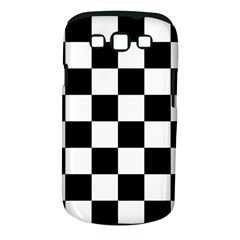 Checkered Flag Race Winner Mosaic Tile Pattern Samsung Galaxy S Iii Classic Hardshell Case (pc+silicone) by CrypticFragmentsColors