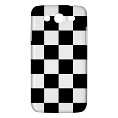 Checkered Flag Race Winner Mosaic Tile Pattern Samsung Galaxy Mega 5 8 I9152 Hardshell Case  by CrypticFragmentsColors