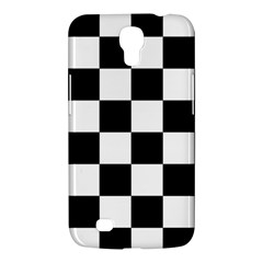 Checkered Flag Race Winner Mosaic Tile Pattern Samsung Galaxy Mega 6 3  I9200 Hardshell Case by CrypticFragmentsColors