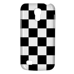 Checkered Flag Race Winner Mosaic Tile Pattern Samsung Galaxy S4 Mini (gt I9190) Hardshell Case  by CrypticFragmentsColors