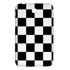 Checkered Flag Race Winner Mosaic Tile Pattern Samsung Galaxy Tab 3 (7 ) P3200 Hardshell Case  by CrypticFragmentsColors