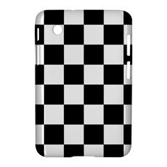 Checkered Flag Race Winner Mosaic Tile Pattern Samsung Galaxy Tab 2 (7 ) P3100 Hardshell Case  by CrypticFragmentsColors