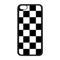 Checkered Flag Race Winner Mosaic Tile Pattern Apple Iphone 5c Seamless Case (black) by CrypticFragmentsColors