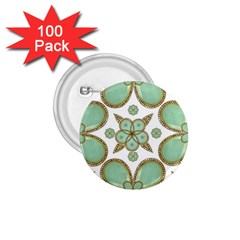 Luxury Decorative Pattern Collage 1 75  Button (100 Pack) by dflcprints