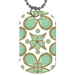 Luxury Decorative Pattern Collage Dog Tag (two Sided)  by dflcprints