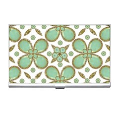 Luxury Decorative Pattern Collage Business Card Holder by dflcprints