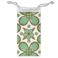 Luxury Decorative Pattern Collage Jewelry Bag by dflcprints
