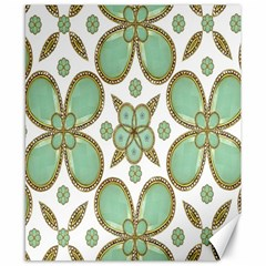 Luxury Decorative Pattern Collage Canvas 8  x 10  (Unframed) by dflcprints