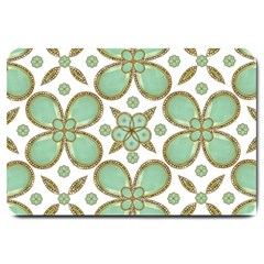Luxury Decorative Pattern Collage Large Door Mat by dflcprints