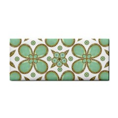 Luxury Decorative Pattern Collage Hand Towel by dflcprints