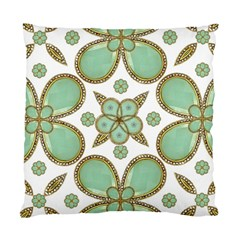 Luxury Decorative Pattern Collage Cushion Case (single Sided)  by dflcprints