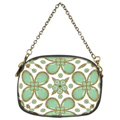 Luxury Decorative Pattern Collage Chain Purse (two Sided)  by dflcprints