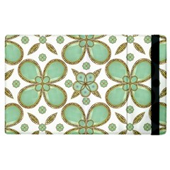 Luxury Decorative Pattern Collage Apple Ipad 3/4 Flip Case by dflcprints
