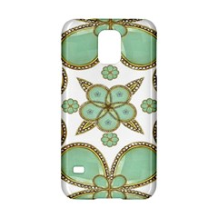 Luxury Decorative Pattern Collage Samsung Galaxy S5 Hardshell Case  by dflcprints