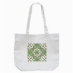 Luxury Decorative Pattern Collage Tote Bag (white) by dflcprints