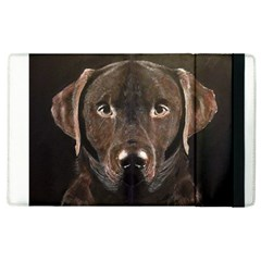 Chocolate Lab Apple Ipad 3/4 Flip Case by LabsandRetrievers