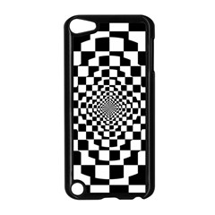 Checkered Flag Race Winner Mosaic Tile Pattern Repeat Apple Ipod Touch 5 Case (black) by CrypticFragmentsColors