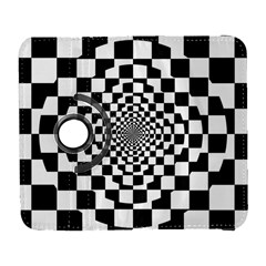 Checkered Flag Race Winner Mosaic Tile Pattern Repeat Samsung Galaxy S  Iii Flip 360 Case by CrypticFragmentsColors