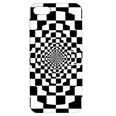 Checkered Flag Race Winner Mosaic Tile Pattern Repeat Apple Iphone 5 Hardshell Case With Stand by CrypticFragmentsColors