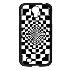 Checkered Flag Race Winner Mosaic Tile Pattern Repeat Samsung Galaxy S4 I9500/ I9505 Case (black) by CrypticFragmentsColors