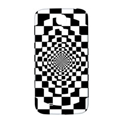 Checkered Flag Race Winner Mosaic Tile Pattern Repeat Samsung Galaxy S4 I9500/i9505  Hardshell Back Case by CrypticFragmentsColors