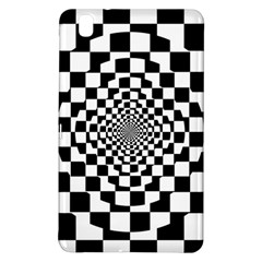 Checkered Flag Race Winner Mosaic Tile Pattern Repeat Samsung Galaxy Tab Pro 8 4 Hardshell Case by CrypticFragmentsColors