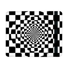 Checkered Flag Race Winner Mosaic Tile Pattern Repeat Samsung Galaxy Tab Pro 8 4  Flip Case by CrypticFragmentsColors