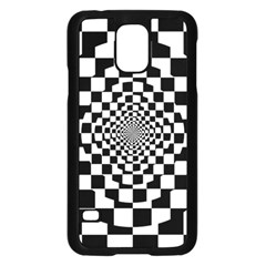 Checkered Flag Race Winner Mosaic Tile Pattern Repeat Samsung Galaxy S5 Case (black) by CrypticFragmentsColors