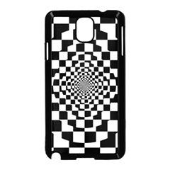 Checkered Flag Race Winner Mosaic Tile Pattern Repeat Samsung Galaxy Note 3 Neo Hardshell Case (black) by CrypticFragmentsColors