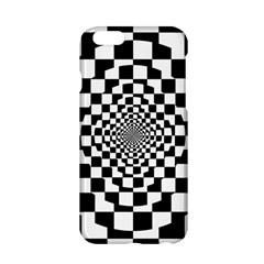 Checkered Flag Race Winner Mosaic Tile Pattern Repeat Apple Iphone 6 Hardshell Case by CrypticFragmentsColors