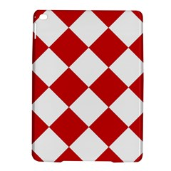 Harlequin Diamond Red White Apple Ipad Air 2 Hardshell Case