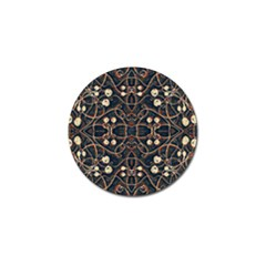 Victorian Style Grunge Pattern Golf Ball Marker 10 Pack by dflcprints