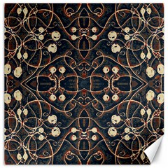 Victorian Style Grunge Pattern Canvas 12  X 12  (unframed) by dflcprints