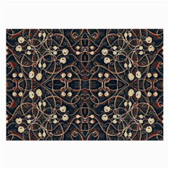 Victorian Style Grunge Pattern Glasses Cloth (large, Two Sided) by dflcprints