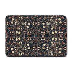 Victorian Style Grunge Pattern Small Door Mat by dflcprints
