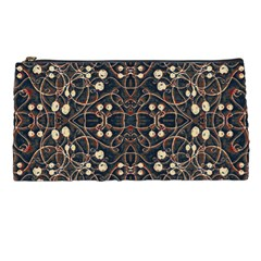 Victorian Style Grunge Pattern Pencil Case by dflcprints
