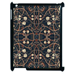 Victorian Style Grunge Pattern Apple Ipad 2 Case (black) by dflcprints