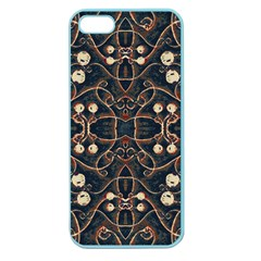 Victorian Style Grunge Pattern Apple Seamless Iphone 5 Case (color) by dflcprints