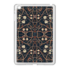 Victorian Style Grunge Pattern Apple Ipad Mini Case (white) by dflcprints