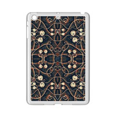 Victorian Style Grunge Pattern Apple Ipad Mini 2 Case (white) by dflcprints