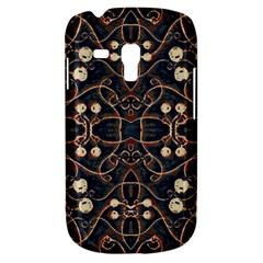 Victorian Style Grunge Pattern Samsung Galaxy S3 Mini I8190 Hardshell Case by dflcprints